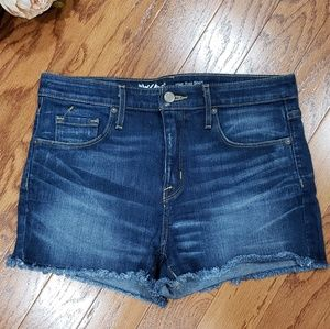 Mossimo High Rise Denim Jean Shorts